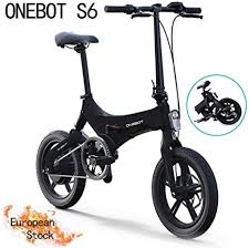 <b>ONEBOT S6</b> Electric Bike,Folding Electric Bike for Adults 6.4Ah ...