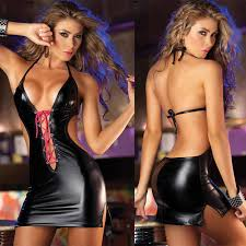 women sex pu leather bra