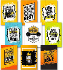 Motivational Posters for Home Gym, Room, Office ... - Amazon.com