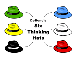 Image result for the 6 thinking hats