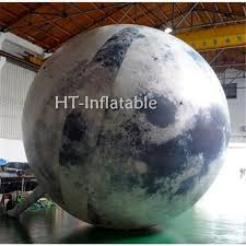 2019 5M LED Lights Giant <b>Inflatable Moon Ball</b>/ <b>Moon</b> Light <b>Balloon</b> ...