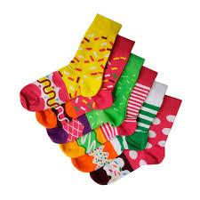Набор цветных <b>носков</b> ПОНЧИКИ №2 419582, <b>комплект носков 6</b> ...