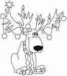 Новогодняя раскраска онлайн бесплатно