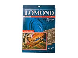 <b>Фотобумага Lomond</b> A4 270g <b>m2</b> Super Glossy глянцевая ...