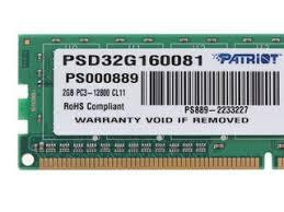 Купить Оперативная <b>память Patriot</b> Signature [PSD32G160081] 2 ...