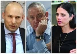 Bennett and Shaked take aim at Gantz but avoid Netanyahu - Israel ...