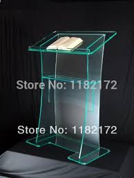 clear acrylic furniture cheap unique design hot sale and modern modern design acrylic digital lectern cheap acrylic furniture
