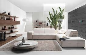 contemporary living room furniture white l shaped sofa and round coffee table with grey fur rug beautiful living room