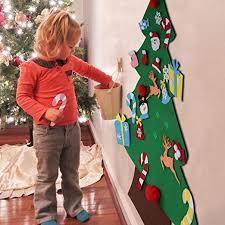 Aytai DIY Felt Christmas Tree Set with Ornaments for ... - Amazon.com