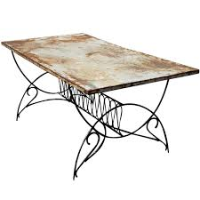 art deco metal outdoor patio dining table 1 art deco outdoor furniture