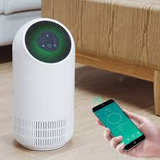 <b>Alfawise P2 HEPA</b> Smart Air Purifier WiFi AI Voice Control 3 Wind ...