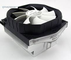 <b>Arctic Cooling Alpine</b> 64 Plus Heatsink Review on FrostyTech.com