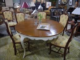 round dining tables for sale seams to fit home consignment furniture designer showroom portland