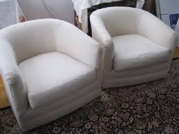 Möbel & Wohnen Red Swivel <b>Tub Chair</b> Grey Frame A <b>Real</b> Piece of ...