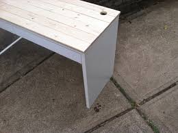 rustic white ikea micke desk with drawers for home furniture ideas chic ikea micke desk white