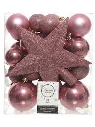 <b>Украшение Kaemingk Набор шаров</b> 100mm 4шт Pink 022246 ...
