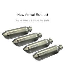 Universal <b>36</b>-<b>51mm</b> dirt <b>bike</b> akrapovic <b>exhaust Motorcycle</b> escape ...