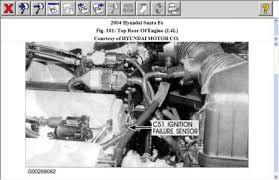 no start problem four cylinder two wheel drive automatic 72,000 2001 Hyundai Santa Fe Wiring Diagram 2 4l engine is on rear of cylinder head 2001 hyundai santa fe wiring diagram