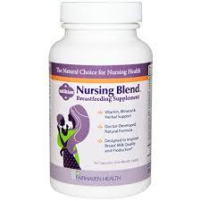 Fairhaven Health, <b>Milkies</b>, <b>Nursing Blend Breastfeeding</b> Supplement ...