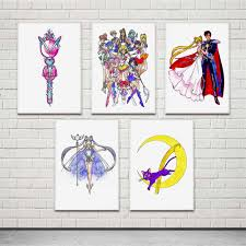 top 8 most popular <b>sailor moon printed</b> brands and get free shipping ...