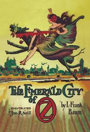 things you not know about the wizard of oz lists cover of the emerald city of