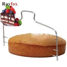 Kitchen Accessories Stainless Steel <b>Adjustable</b> Wire Cake Cutter ...