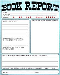 writing a book report college book report form th grade worksheets on study writing skills