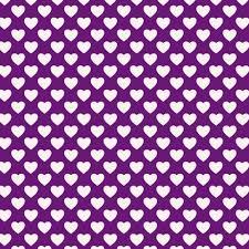Ткань <b>Сердечки</b> на фиолетовом - закажи на #MarketShmarket ...