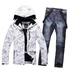 2019 <b>New Thicken Warm</b> Men Women Couples <b>Ski</b> Suit Winter ...