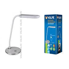 Купить <b>Лампа настольная VOLPE</b> TLD-522 Silver/LED/360Lm ...