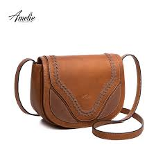 amelie galanti casual crossbody bag soft cover solid saddle tassel women messenger bags high quality shoulder for