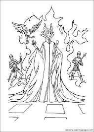 Small Picture Maleficent Coloring Pages Pinterest Maleficent