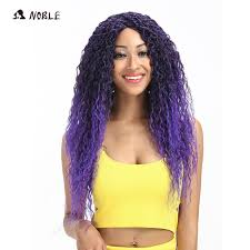 <b>Noble Hair</b> Curly Wig Long Womens Wigs <b>Synthetic Wigs</b> For Black ...
