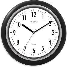<b>Energy ЕС</b>-<b>07 настенные часы</b> 9307, цвет черный, белый ...