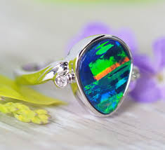<b>Opal Rings</b> With <b>Natural</b> Opals | Find The Perfect One For You
