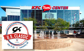 Louisville's KFC Yum! Center plays host to 2019 ... - USA Gymnastics