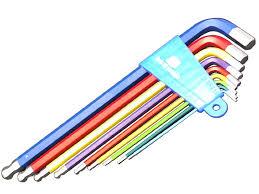 Набор длинных цветных шестигранников <b>BIKE HAND YC</b>-<b>623</b>-9C
