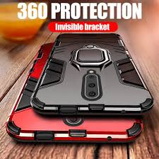 Shockproof <b>Armor</b> Case Stand Holder <b>Car</b> Ring Back TPU+PC ...