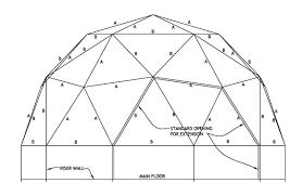 Dome Plans freq flat side