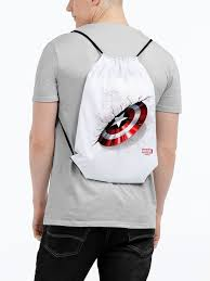 <b>Рюкзак Щит Капитана</b> Америки, белый