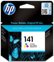 Картридж <b>HP 141</b> (<b>CB337HE</b>), голубой, пурпурный, желтый, для ...