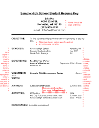 resume examples resume template for high school students resume examples high school student resume objective examples gopitch co resume template for high
