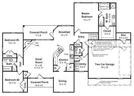 Ranch Style Homes  The Ranch House Plan Makes a Big ComebackHouse     Ranch floor plan