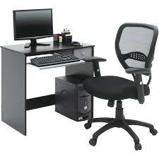 home office computer desk black and gray besi office computer desk