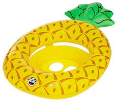 <b>Круг надувной</b> детский <b>BigMouth</b> Pineapple BMLF-0004 — купить ...