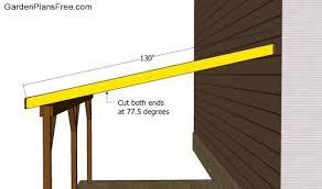 DIY Attached Carport Building Plans Download cedar pergola plans    attached carports building plans