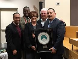 libra academy educator wins teaching award for supporting teacher orlando rodriguez is shown from left dr ref rodriguez operations
