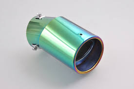 For Universal Adjustable Colorful <b>Exhaust Muffler Tail</b> Tip Pipe 58 ...