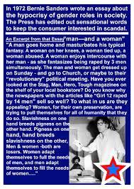 excerpt from bernie sanders essay ur excerpt from bernie sanders 1972 essay