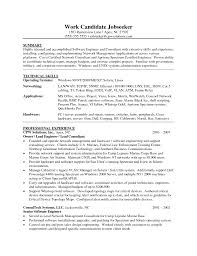 resume for software engineer resume sample x cover letter gallery of sample resume of software engineer